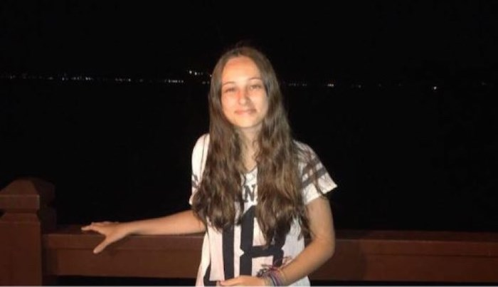 Fernanda Girotto poses in a photo posted on social media. Girotto, a 15-year-old Brazilian exchange student, was killed in a collision on a Cariboo Road crosswalk on Jan. 17, 2018.