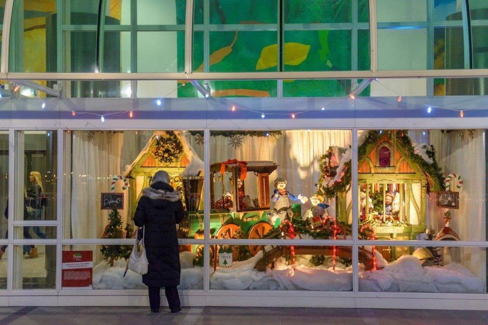 See the historic Woodward's department store Christmas window displays that live on here. Photo courtesy Canada Place