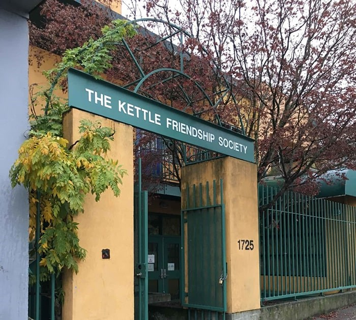 The Kettle Society has been offering a number of mental health, housing and community services in Vancouver since the '70s. Photo: The Kettle Society