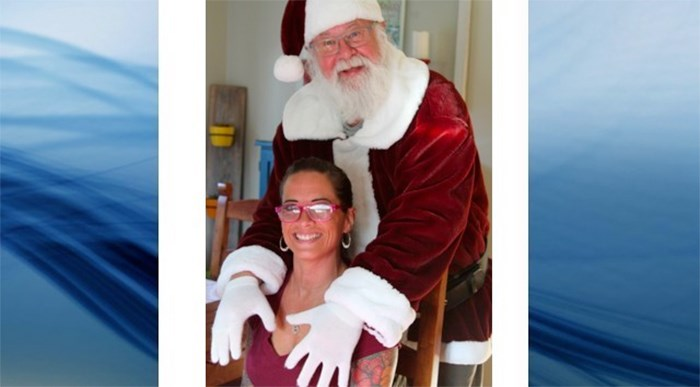 Gary Haupt has been fired by Cherry Lane Mall for recent photos he took in his Santa costume on his personal time, and the community has rallied around him. Photo Facebook