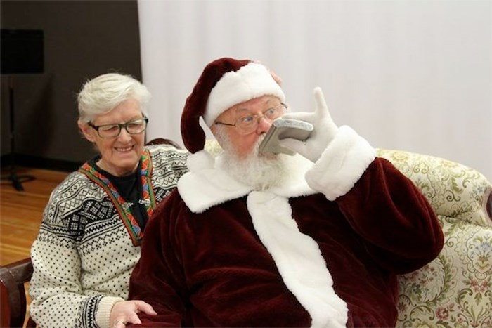 A beloved B.C. mall Santa who was fired for some risque photos he took in his own time has received support from his community. Photo contributed