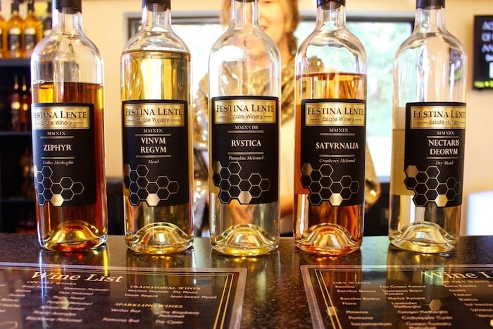 Sip on mead - a wine made of honey - at Festina Lente. Photo by Lindsay William-Ross/Vancouver Is Awesome