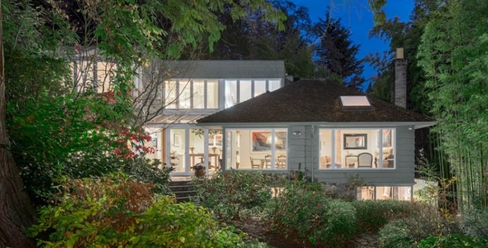 Tommy Chong's upscale joint in West Vancouver is on the market for $7 million. Photo: Supplied