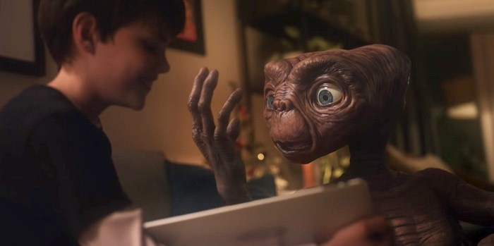 Say whaaaat? E.T. is back in a new commercial that was shot here in Metro Vancouver. Screenshot/YouTube
