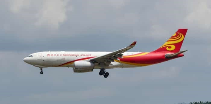 SEPANG, MALAYSIA - DECEMBER 14, 2016: Hong Kong Airlines plane Airbus A330-243F, Registration name B-LNW, arrive at KLIA airport on December 14, 2016 in KLIA, Sepang, Malaysia. / Shutterstock