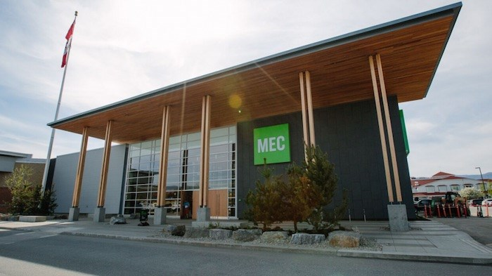 Mountain Equipment Co-op (MEC)'s outlet in Kelowna. Photo by Robb Thompson