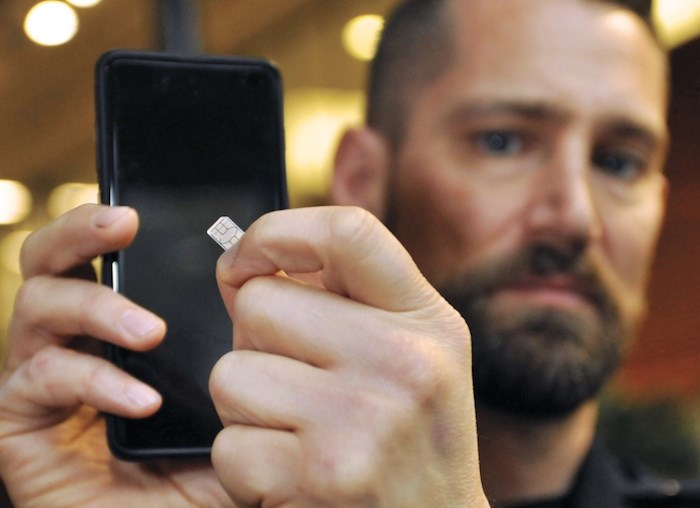 Const. Kevin Goodmurphy of the West Vancouver Police Department was a recent victim of a cell phone SIM card scam.