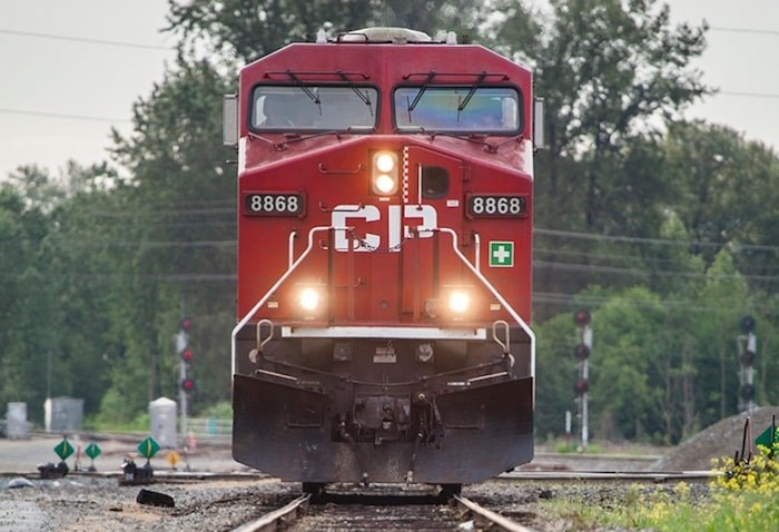 The 56-year-old father, who had 32 years of service according to the union, is the tenth member of the Teamsters Canada Rail Conference (TCRC) to die on the job in the last two years, according to the union. Photo via CP Rail