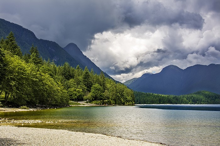 Golden Ears Provincial Park campground. Photo Shutterstock