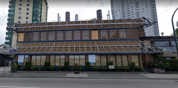 CRAFT Beer Market confirms they are the new tenants at 1795 Beach Avenue, in what used to be the Boathouse on English Bay. Photo: Google Street View