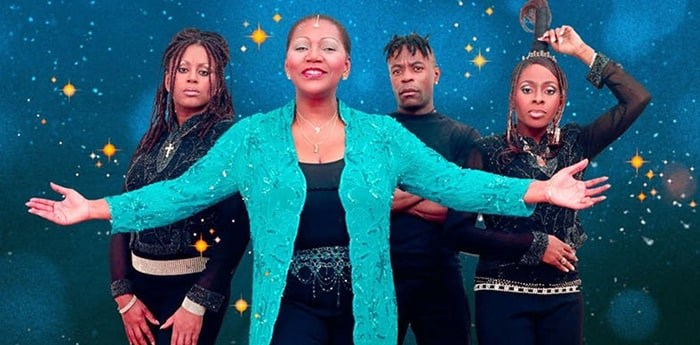 Boney M. is coming to town, and they're bringing their Christmas spirit along. Photo: Eventbrite
