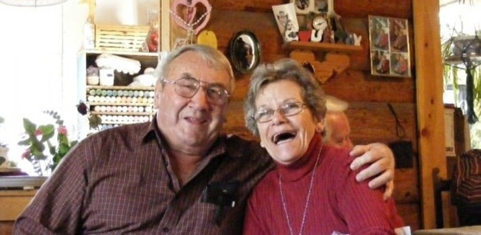 Les and Colleen Harris lost their Chilcotin home to an electrical fire on Dec. 1. Photo: Gofundme
