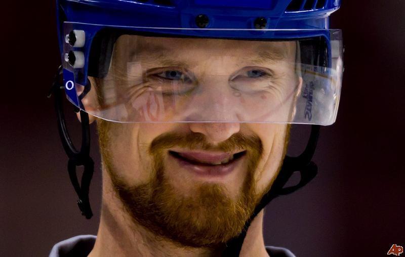 Henrik smiling