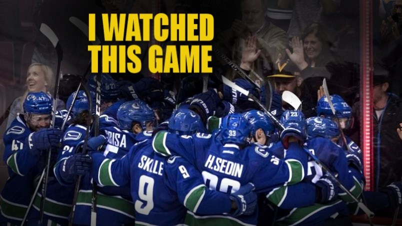 I Watched This Game Canucks 3 Bruins 4 Vancouver Is Awesome