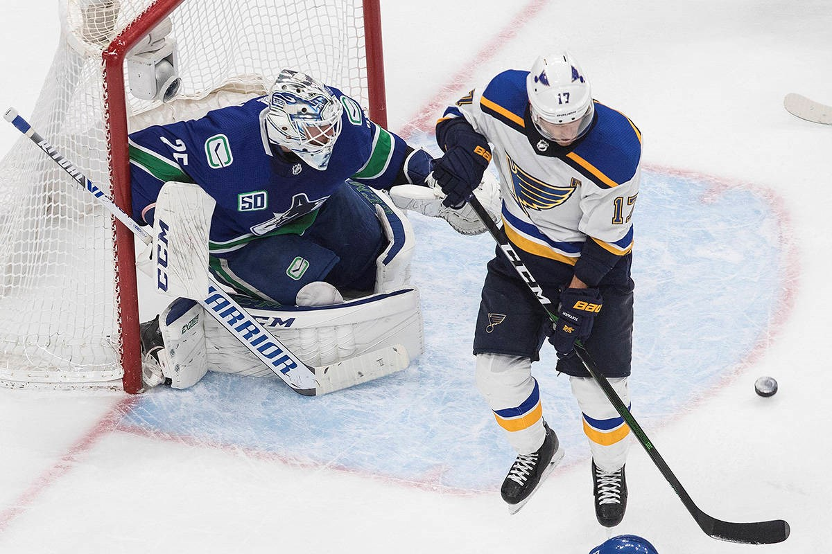 Playoff Rookie Jacob Markstrom Is Staying Cool Calm And Collected As He Carries The Canucks Vancouver Is Awesome