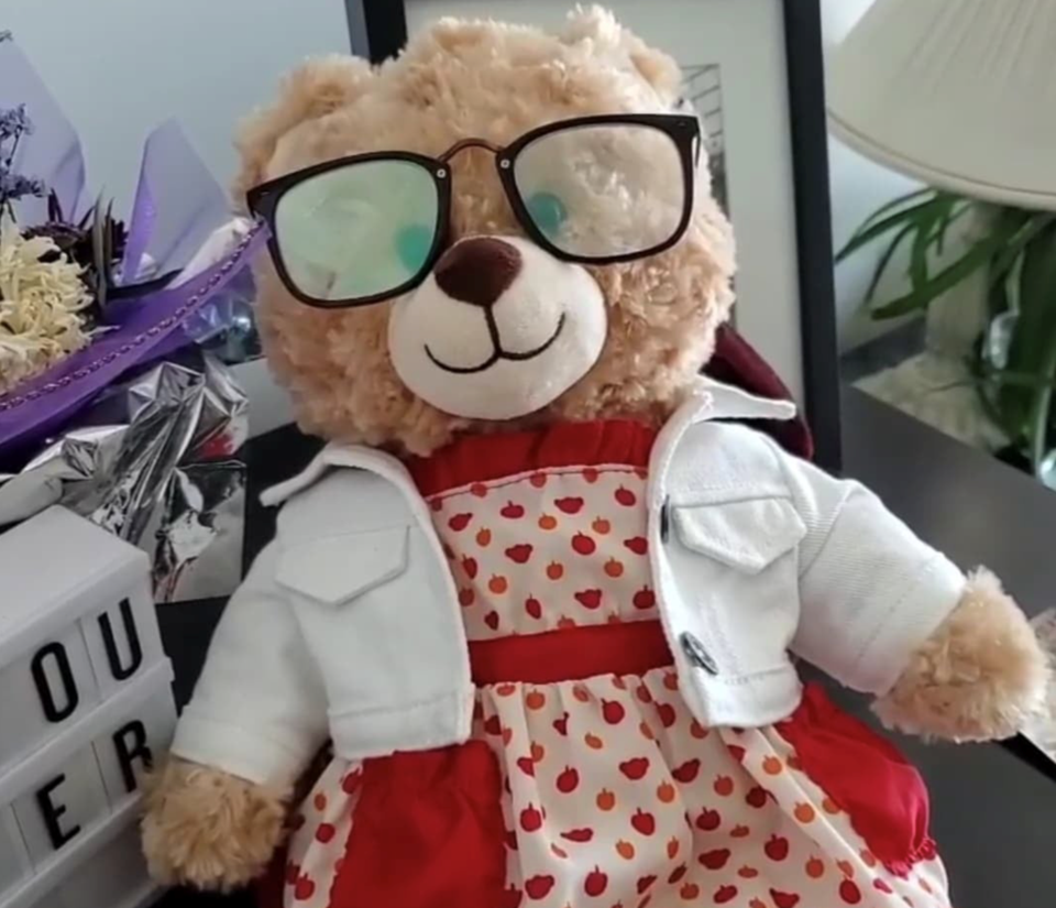 mara stolen teddy bear Screen Shot 2020-07-25 at 5.58.47 PM