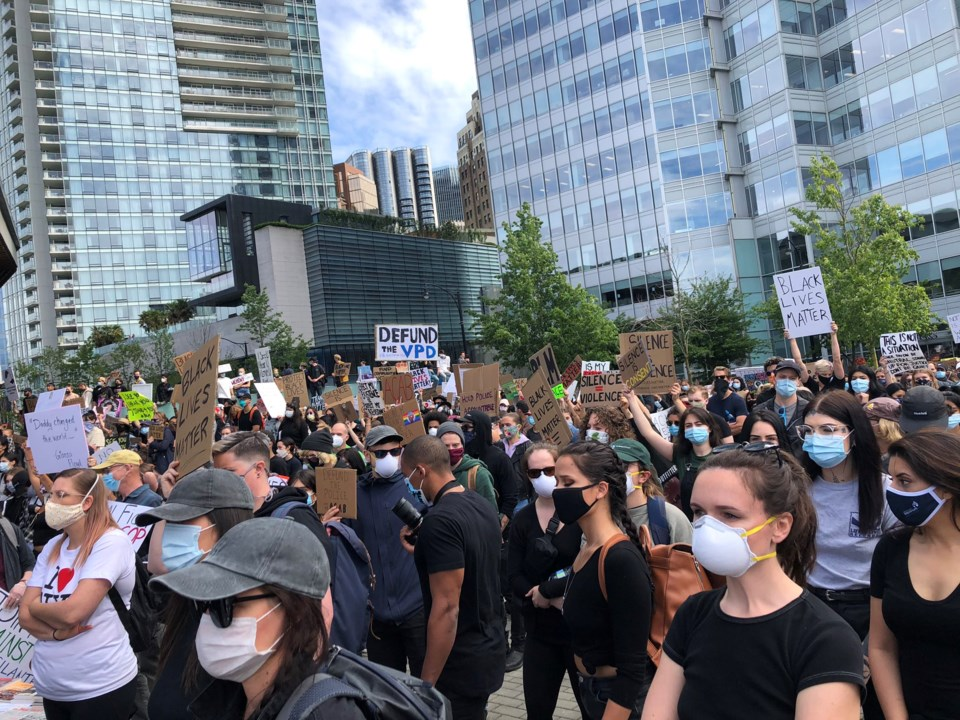 masks bl protest by elana