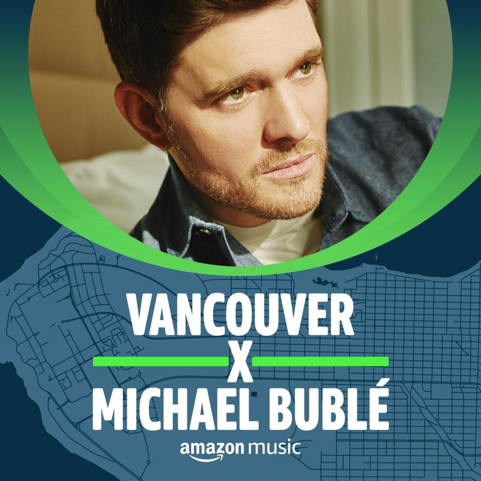 michael buble vancouver playlist