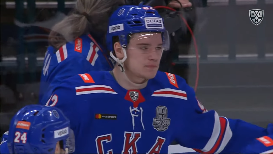 Podkolzin scores with perfect shot from the point 0-43 screenshot