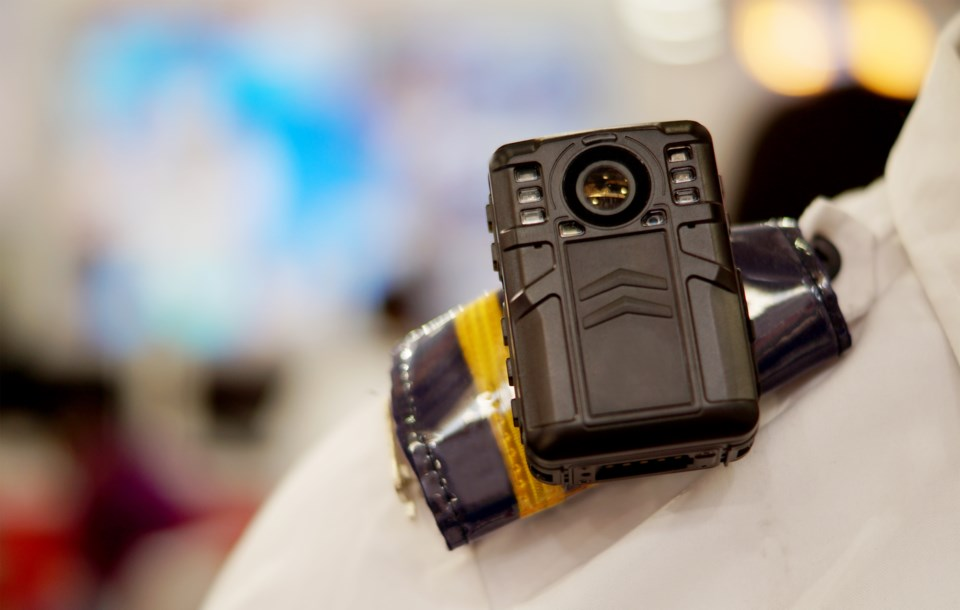 police body camera GettyImages-1224782879