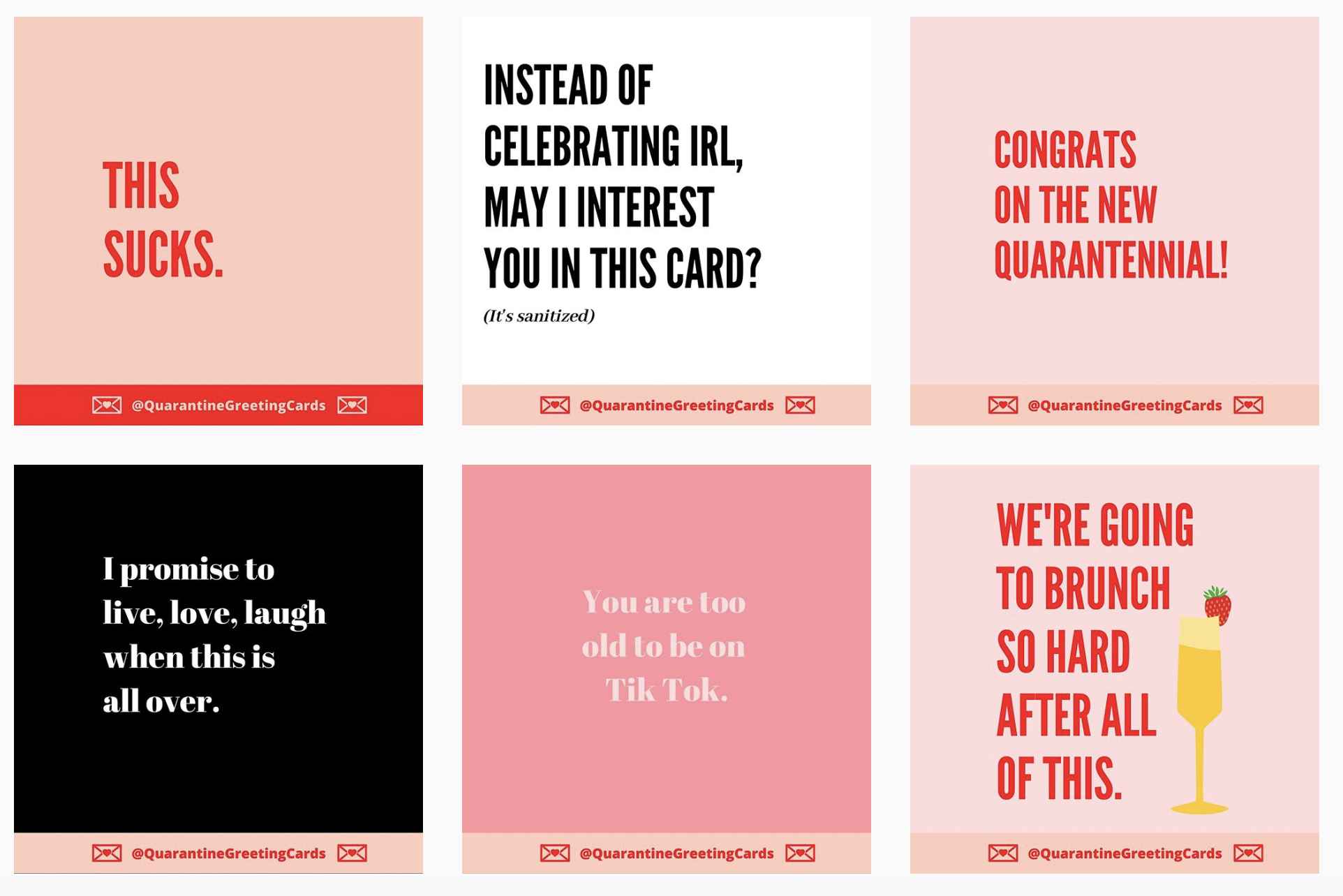 Admirable These Vancouver Friends Launched A Line Of Hilarious Quarantine Funny Birthday Cards Online Fluifree Goldxyz