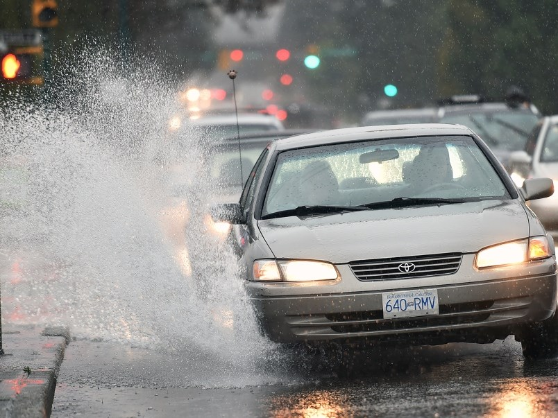 Rainfall warning issued for Halifax as nor'easter hits region