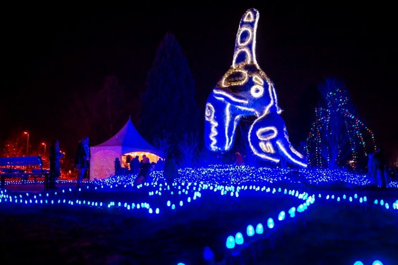 This is the last weekend to bask in the glow of the Lights at Lafarge, the largest free outdoor winter light show in the Lower Mainland. 