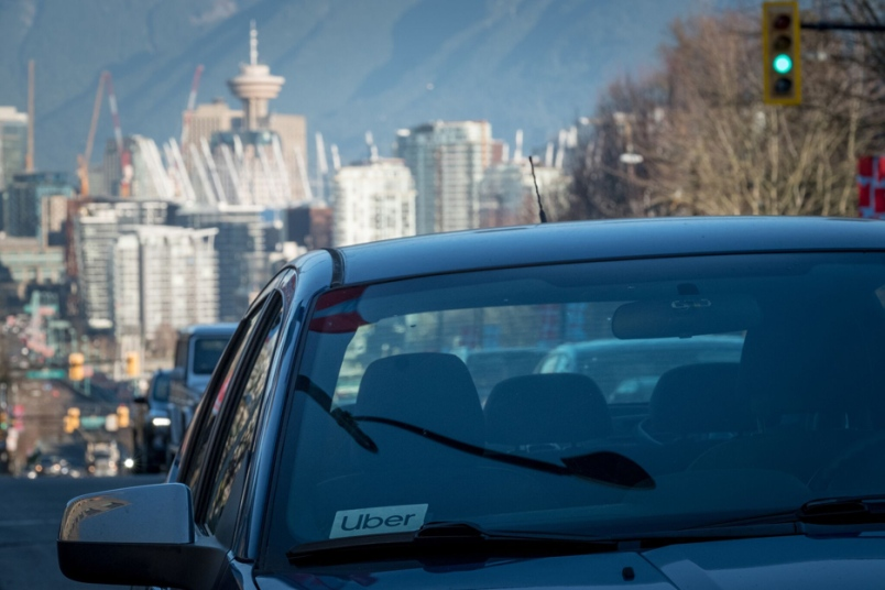 Uber and Lyft not licensed to operate in Burnaby, could face fines