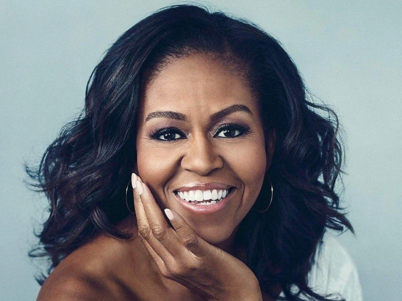 Former first lady and full-on rock star Michelle Obama to ...