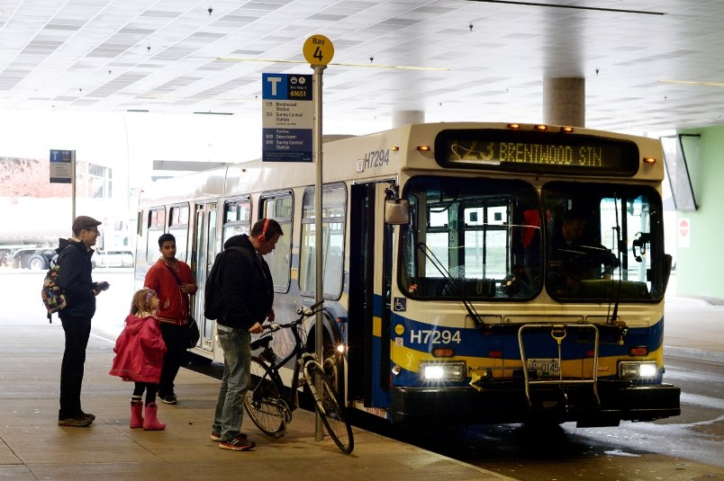 Transit ridership continues to increase in Metro Vancouver after plummeting at the start of the global pandemic.