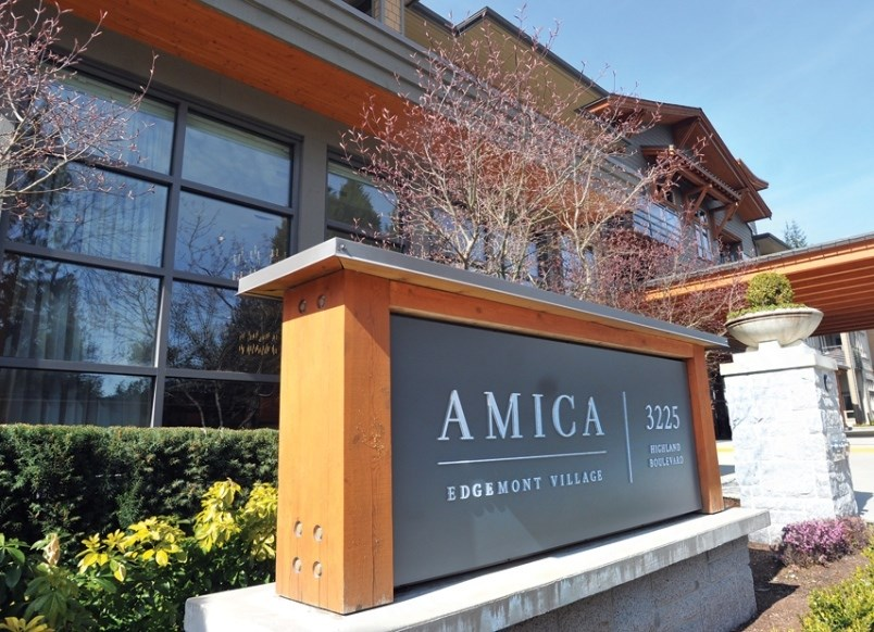 COVID outbreak declared at Amica care home in North Vancouver