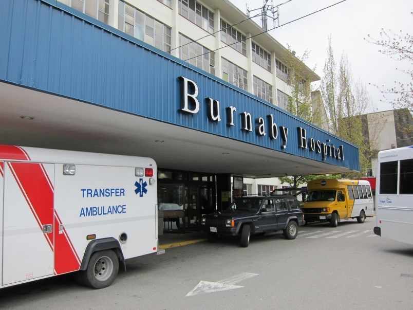 Burnaby Hospital.
