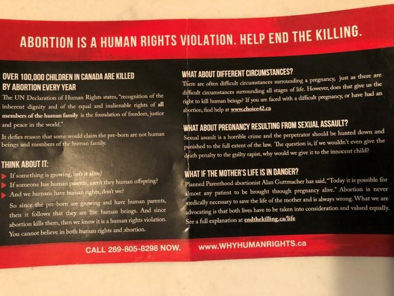 burnaby-anti-abortion-flyers