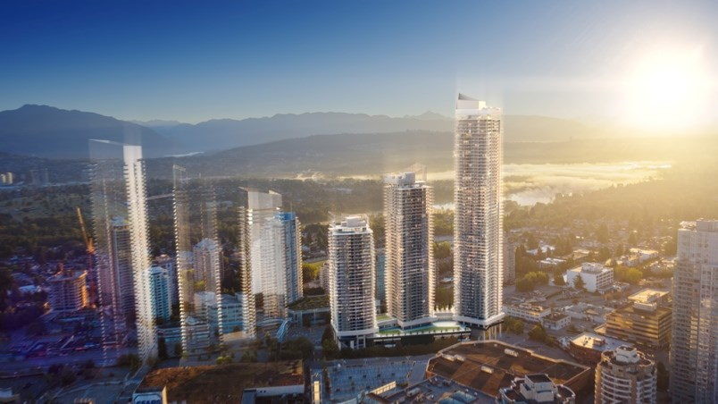 Concord Pacific has provided new renderings and details about its Concord Metrotown development that will surround the Metropolis at Metrotown shopping centre on Kingsway.