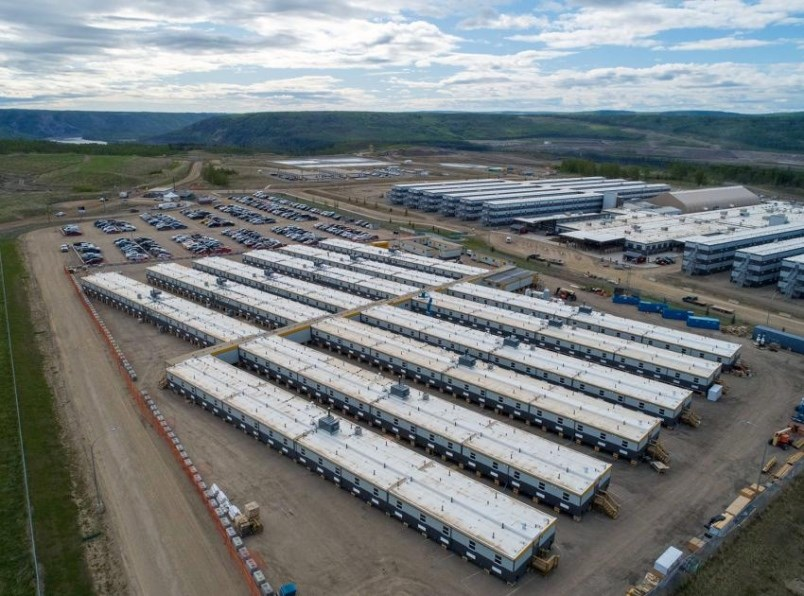 Site C work camp added 450 beds in May 2020