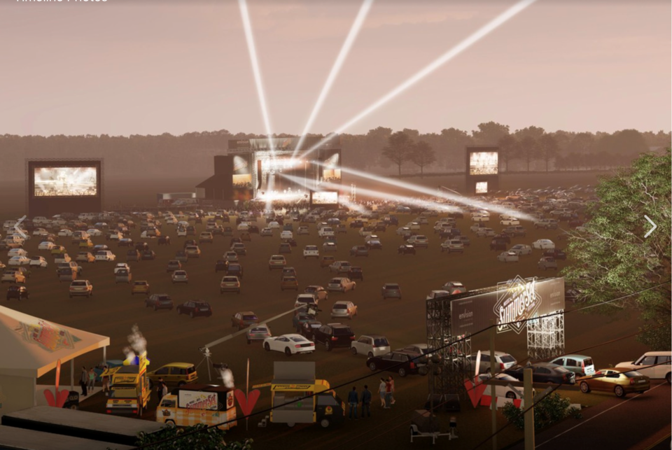 Summerset music festival drive in Screen Shot 2020-05-14 at 5.11.44 PM