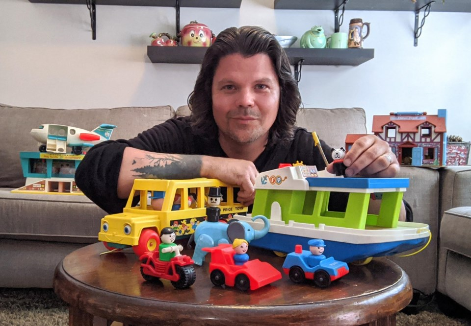 Todd cameron Fisher Price Collection