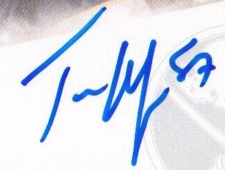 Tyler Myers autograph