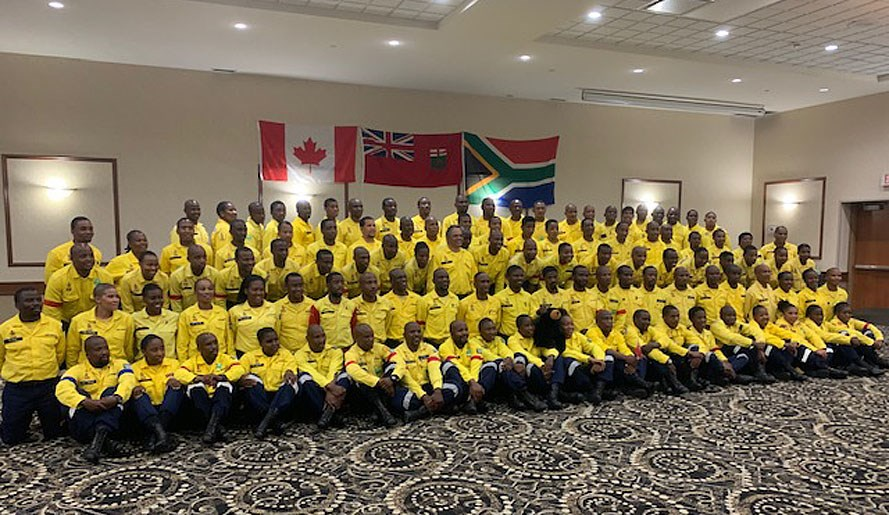 South African Firefighting Team