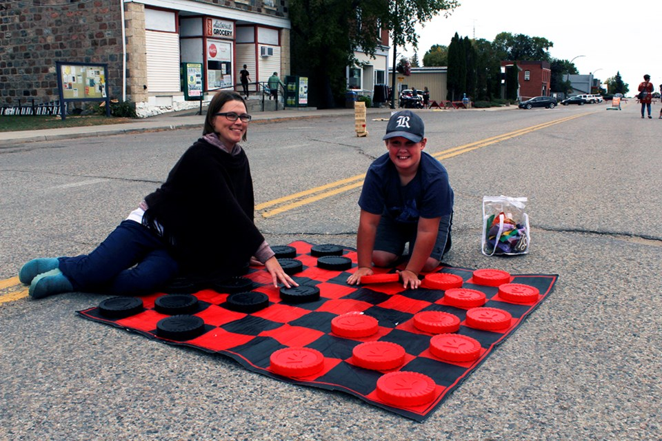 Much fun was had with the oversized games at this year's Harvest Haze.
