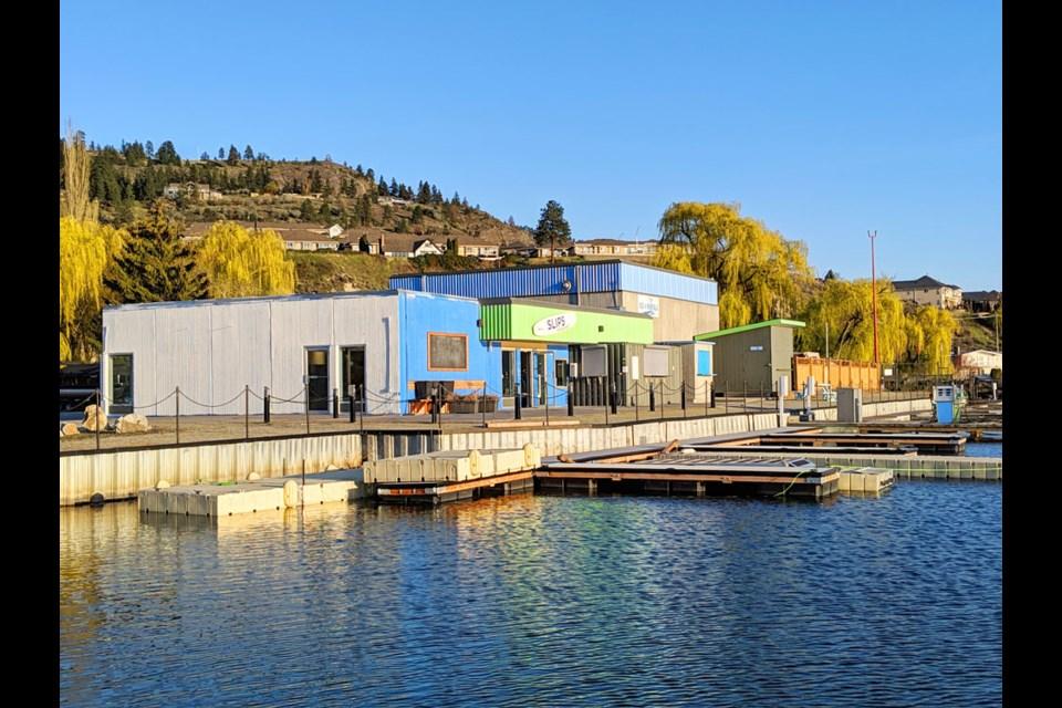 Skaha Lake Park Marina.