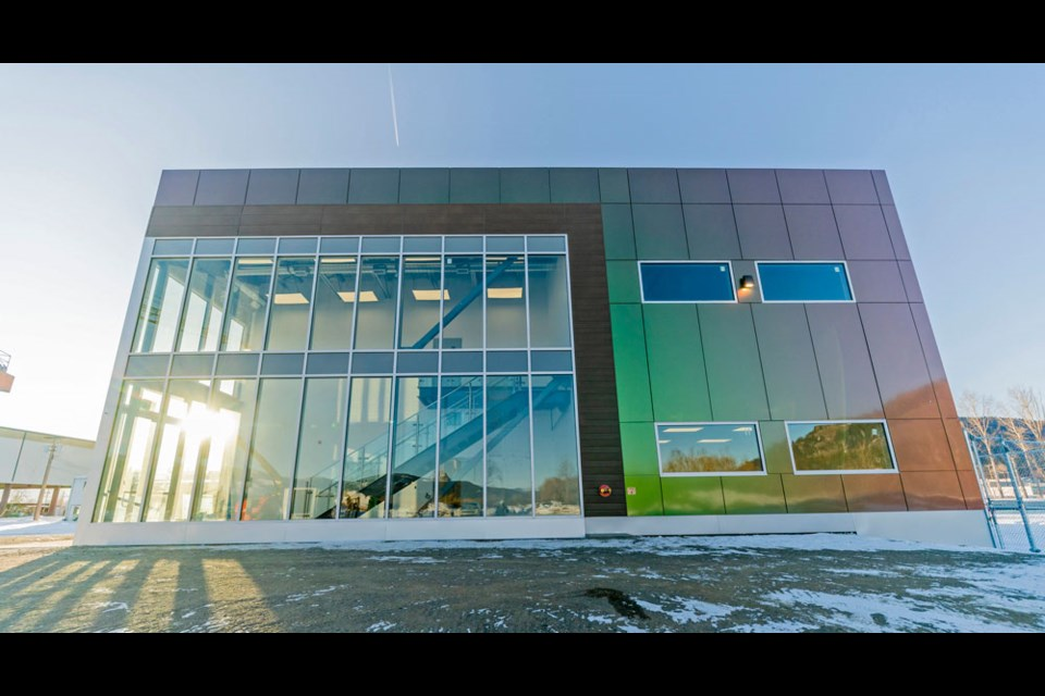 True Leaf's grow facility will anchor the company's planned cannabis business park.