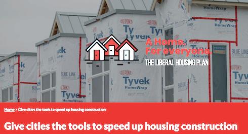 A Liberal housing brochure