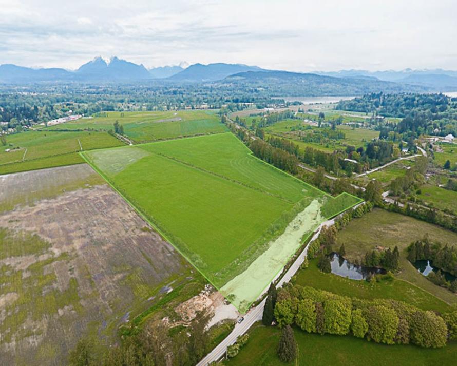 Langley farmland
