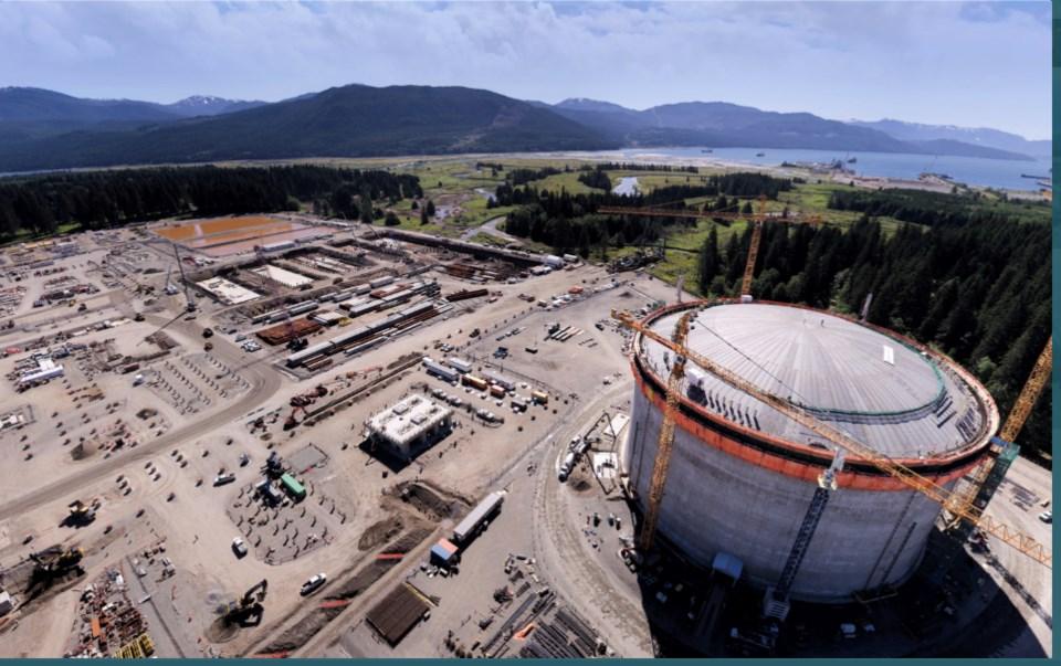 LNG Canada kitimat aug 2021