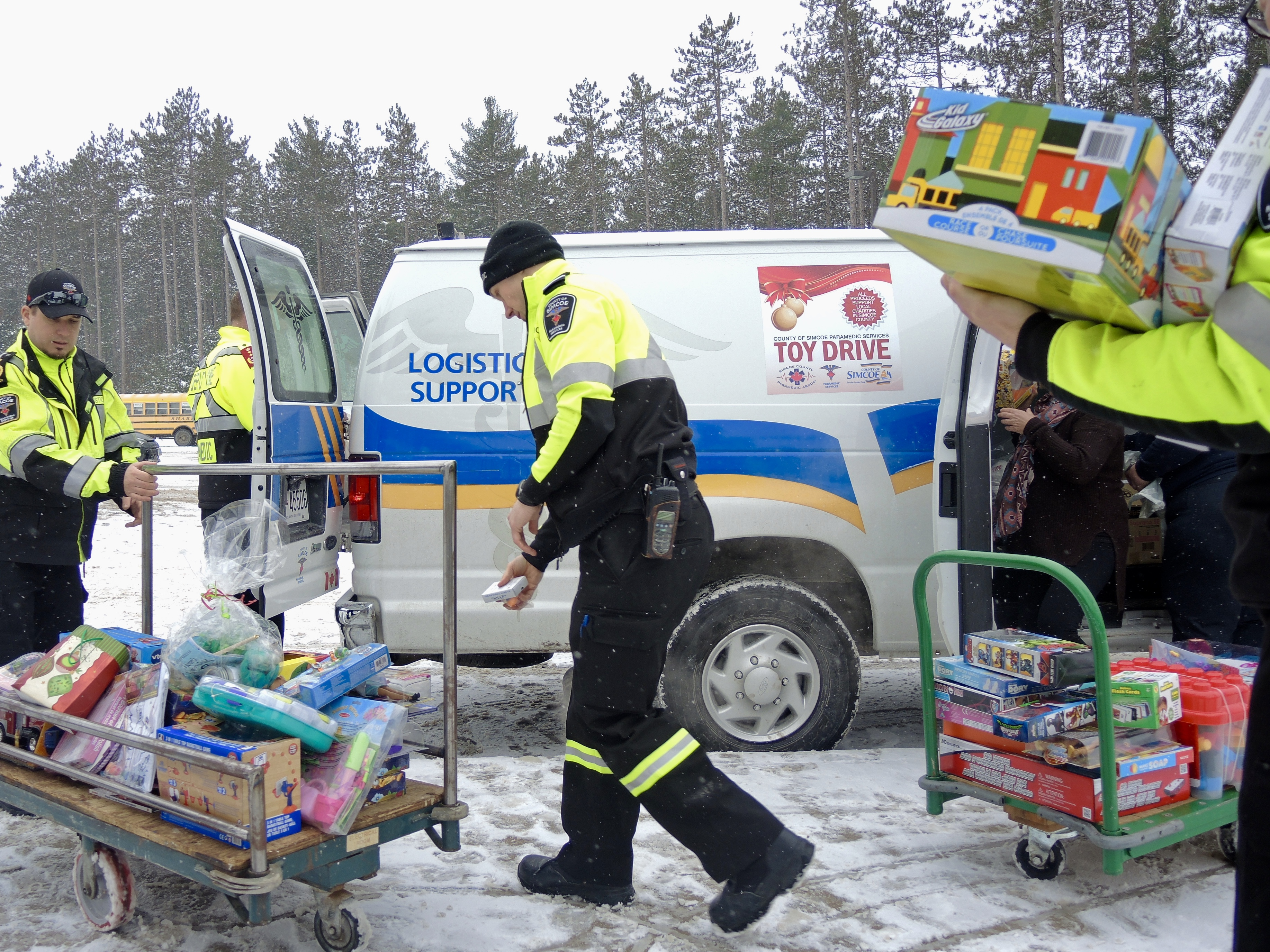 Simcoe County paramedics launch annual Christmas Toy Drive - OrilliaMatters