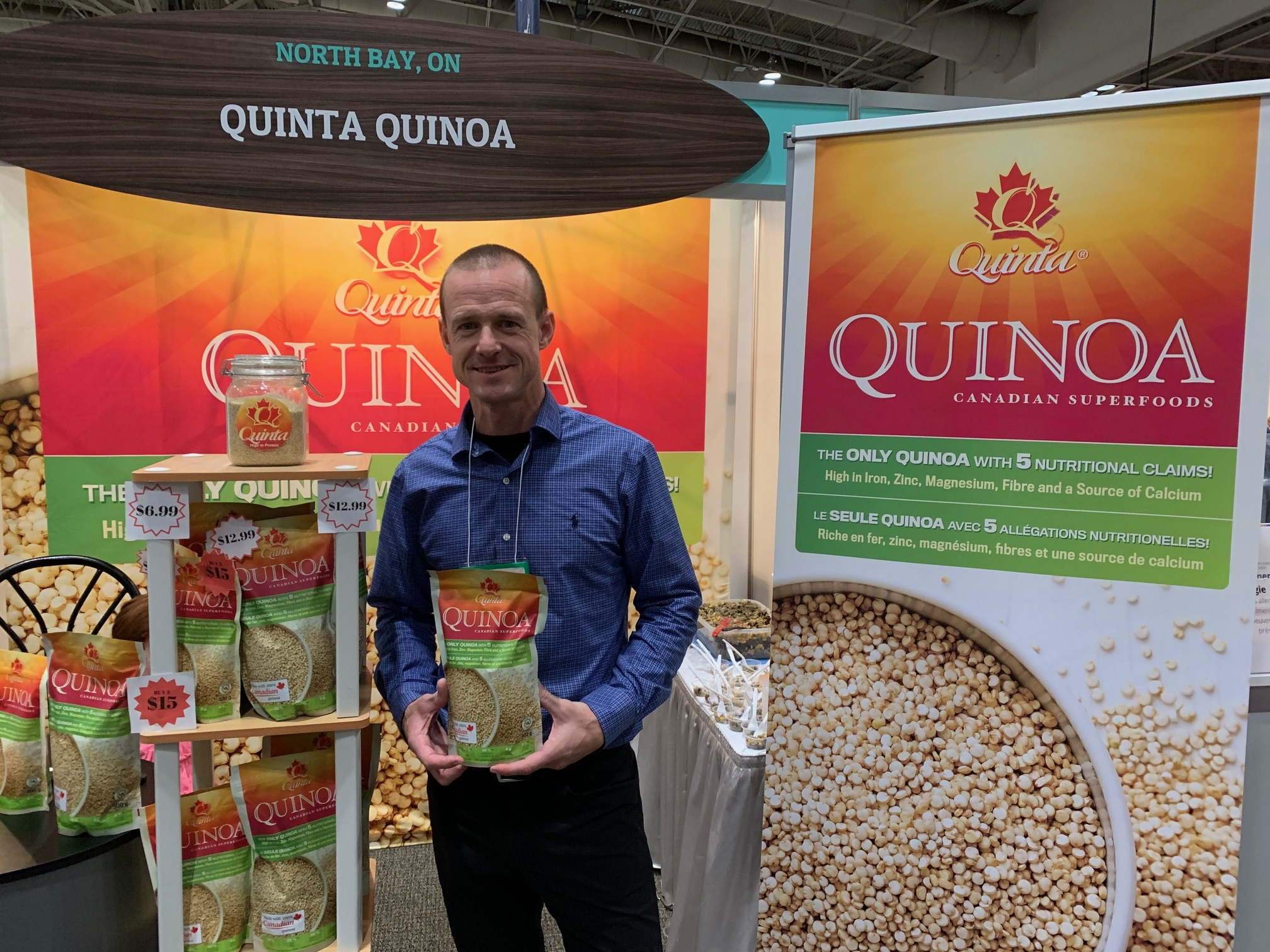 Quinoa processsing plant may be coming to North Bay