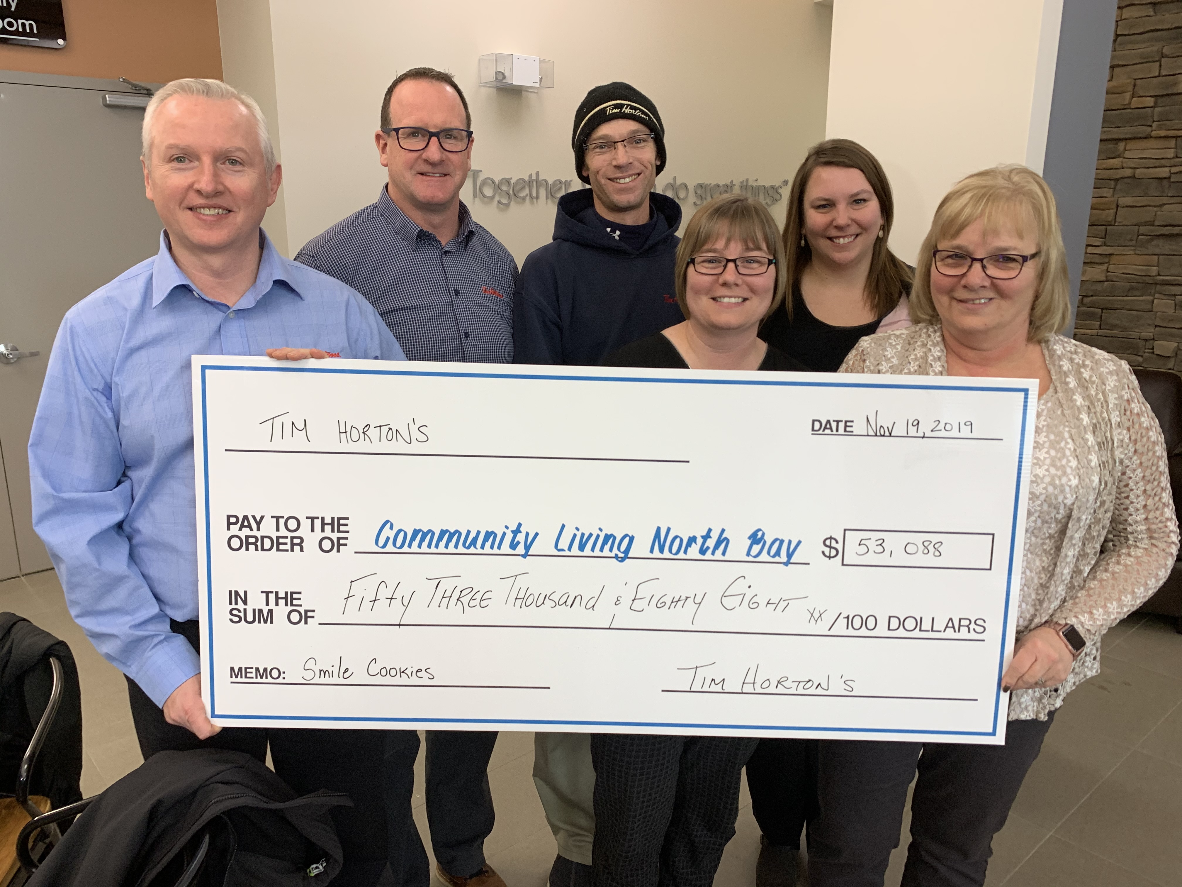 Unique partnership brings smiles in the city and at Community Living North Bay