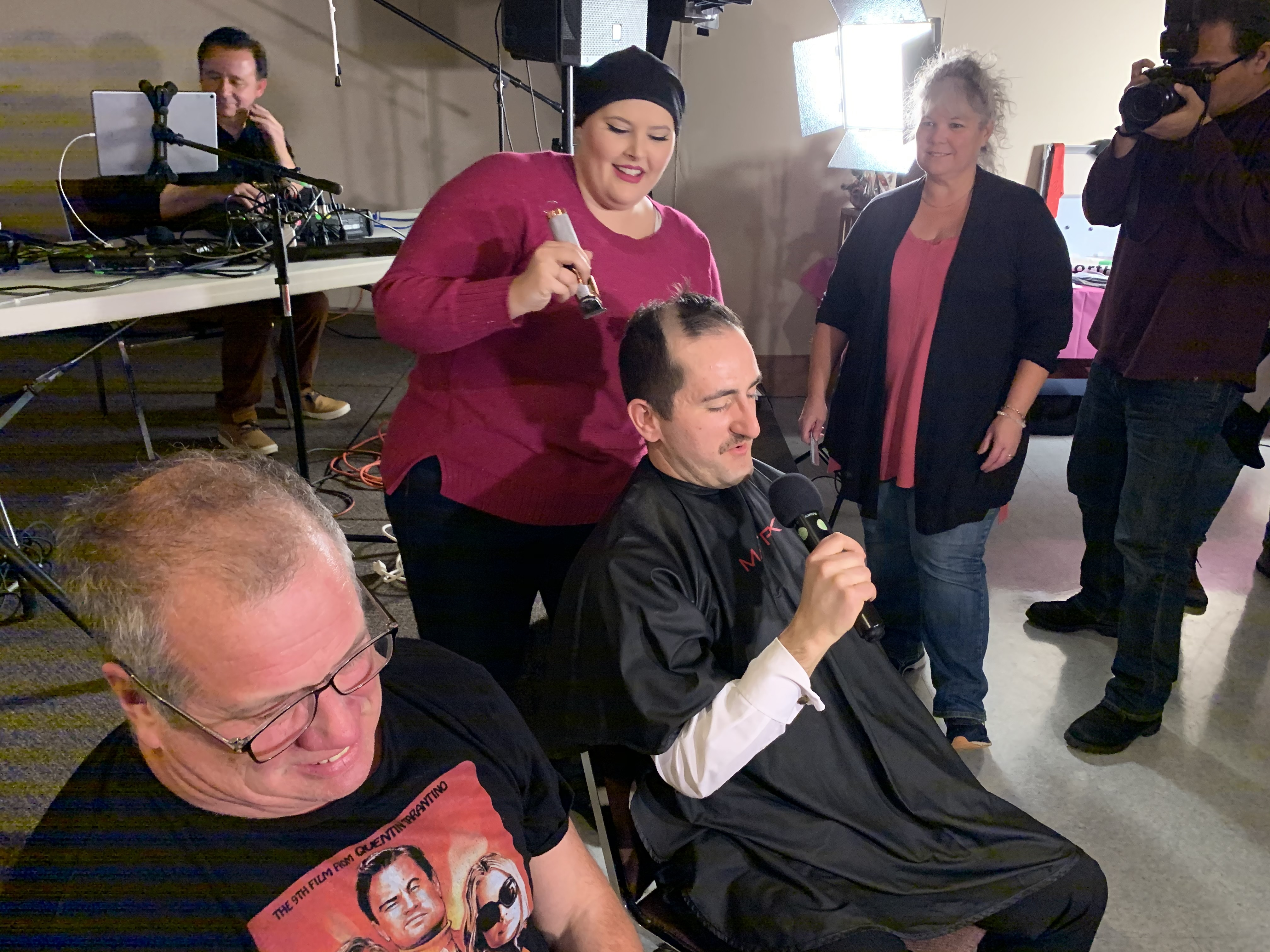 Community rallies for reporter fighting breast cancer