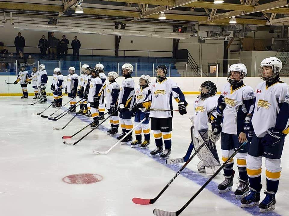 Vipers hold a tribute game for a dedicated coach and hockey dad